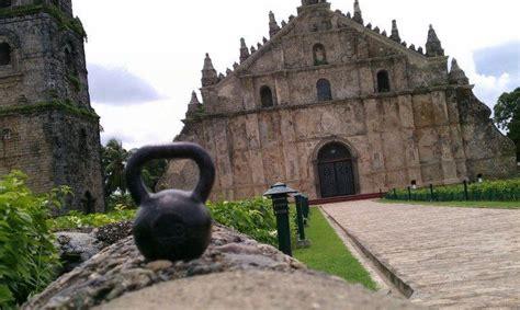 spanish church kettlebell baby mighty kettlebells painting philippines