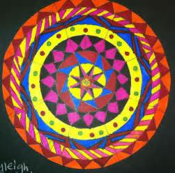 Radial Symmetry Art Painting
