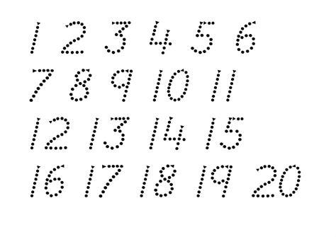 trace number   worksheets activity shelter