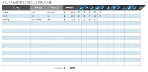 payment templates smartsheet