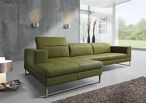 Canapé 4 Places Cuir : canap d 39 angle cuir sr andy avec chaise longue 4 places ~ Teatrodelosmanantiales.com Idées de Décoration
