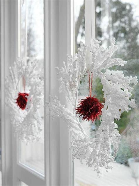 Weihnachtsdeko Fenster Weiß by 35 Bastelideen F 252 R Fenster Weihnachtsdeko