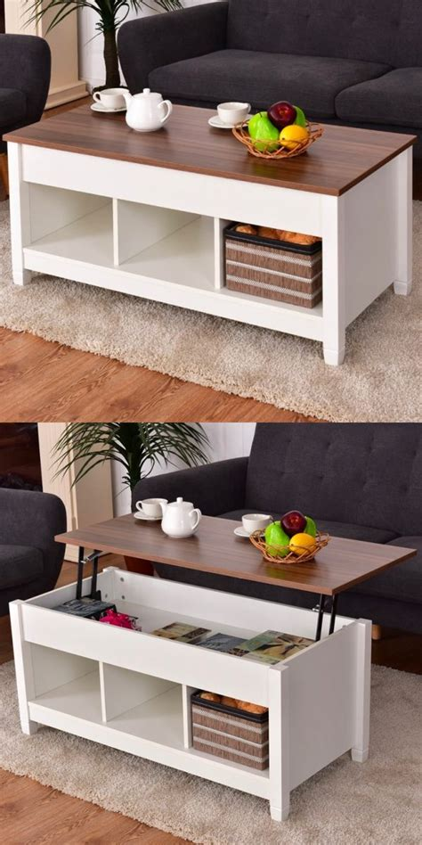 78 best cocktail & coffee tables images on pinterest, source: 33 Beautiful Lift-Top Coffee Tables To Help You Declutter and Multi-Task