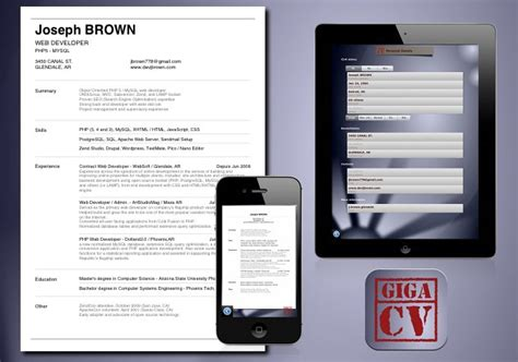 App Resume Android by How To Make Your Resume Cv With Your Iphone Or Android Device Resume Cv Cover Letter