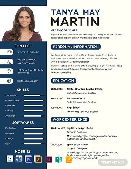 Pro Resume Template by Free Professional Resume And Cv Template 2059
