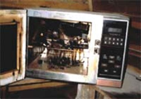microwave  determine moisture content