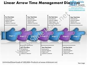 Business Proposal Template Linear Arrow Time Management