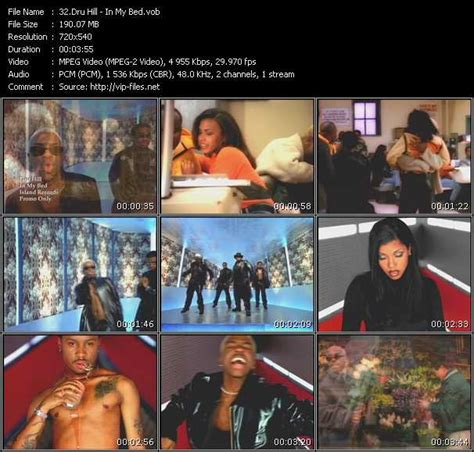 dru hill in my bed download high quality video vob