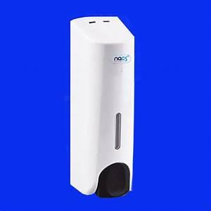 Manual White Plastic Soap Dispenser 400 Ml  Capacity
