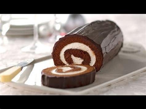 samira tv cuisine gâteau roulé au chocolat