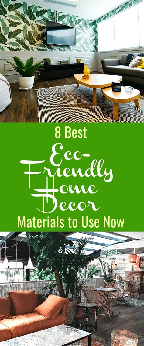 Eco Friendly Home Decor by 8 Best Eco Friendly Home Decor Materials To Use Now