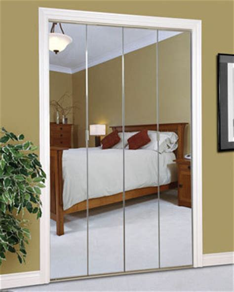 Mirror Folding Closet Doors by Slimfold Bifold And Overlay Mirrored Doors Dunbarton