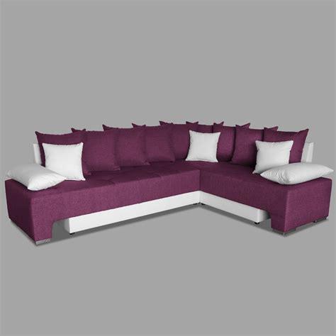 canape d angles canapé d 39 angle couleur prune