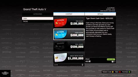 Xbox One Gta 5 Shark Card Codes, Xbox, Free Engine Image