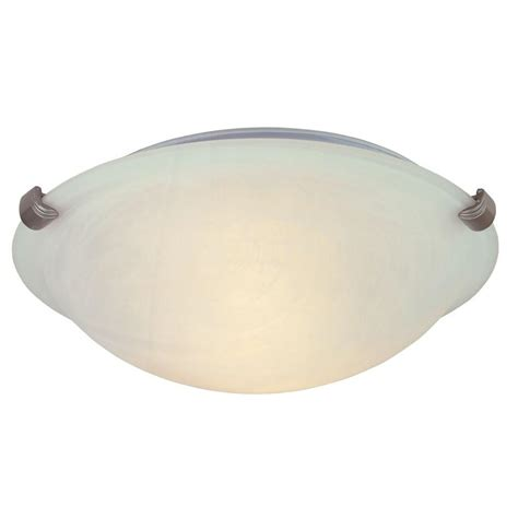 home depot flush mount ceiling light fixtures hton bay 1 light white globe flushmount with pull