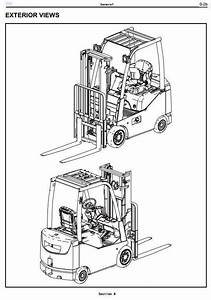 Original Illustrated Factory Workshop Manual For Toyota Diesel And Lpg Forklift 8