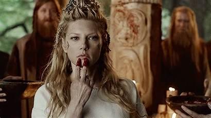 Vikings Lagertha Winnick Katheryn Gifs Giphy Blood