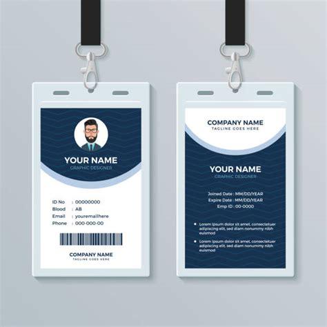 employee badge illustrations royalty  vector
