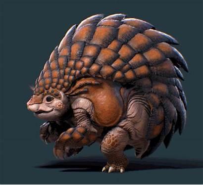 Pangolin Skin Artstation Guild Wars Concept Fantasy