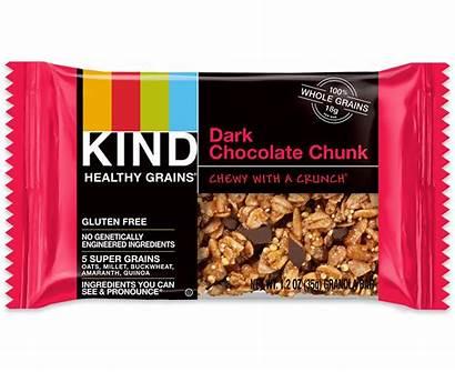 Chocolate Bars Dark Kind Healthy Grains Chunk