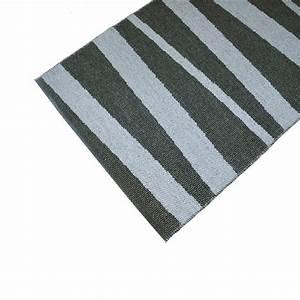 tapis de couloir are gris et noir sofie sjostrom design 70x100 With tapis de couloir gris