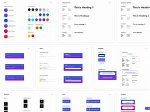 Mobile App Style Guide By Kaitlyn Malson For Mighty In The