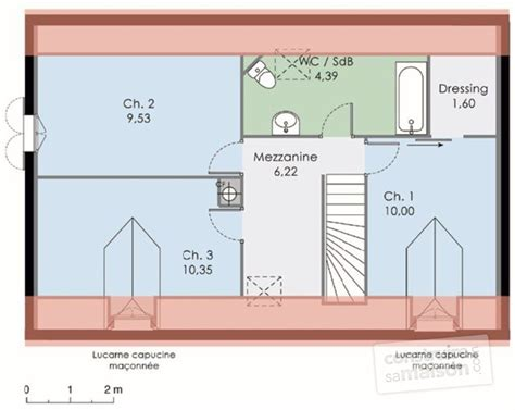 plan maison etage 4 chambres 1 bureau plan etage maison maison classique with plan maison etage