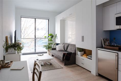 micro apartment living small space living in micro apartments nyc architectural digest