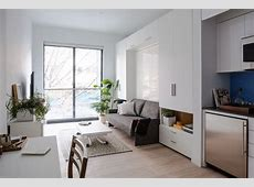 Small Space Living in MicroApartments NYC Architectural