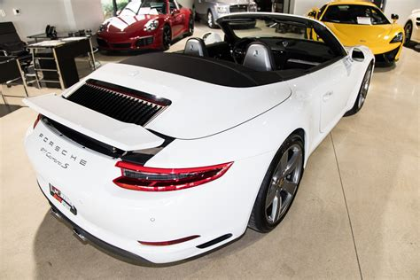 But porsche has been battling turbo lag and working to smooth out the hit longer than just about anyone else. Used 2017 Porsche 911 Carrera S For Sale ($99,900) | Marino Performance Motors Stock #155114