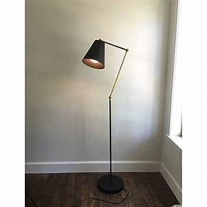 buyeer floor uplighter reading lamp light blackvintage With floor uplighter reading lamp uk