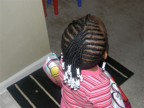black little girl hairstyles with beads hairstyle for