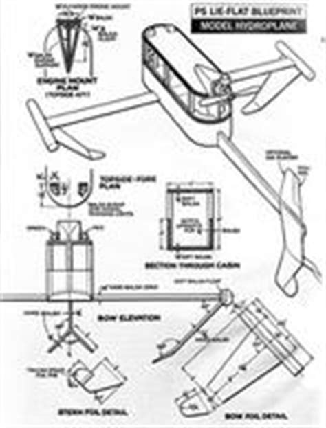 Model Hydrofoil Boat Plans by 1969 Popular Science Hydroplane Rc Groups