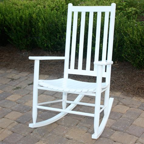 dixie seating georgetown hickory outdoor slat rocking