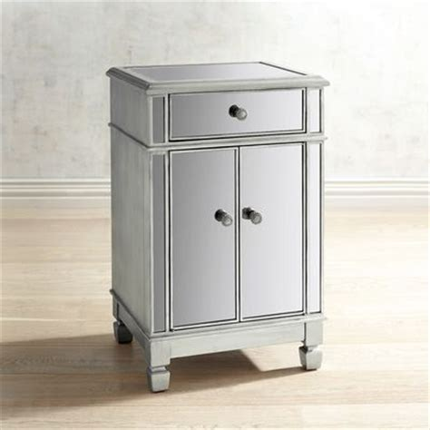 pier one imports mirrored chest hayworth mirrored bedside chest silver pier 1 imports