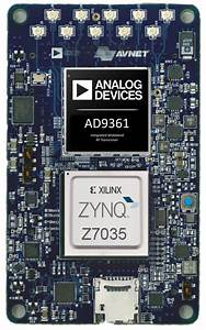 Software Defined Radio Module Runs Linux On Zynq Soc