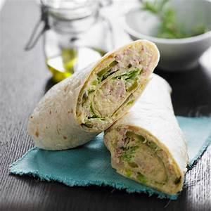 Recette Avec Tortillas Wraps : wrap au thon facile et pas cher recette sur cuisine actuelle ~ Melissatoandfro.com Idées de Décoration