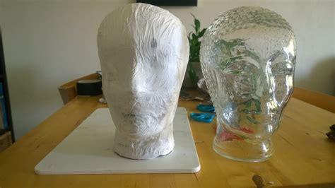 diy een basishoofd van papier mache youtube