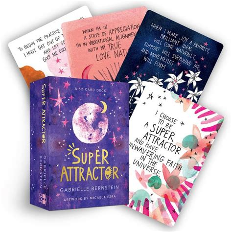 Super attractor oracle cards 52 affirmations to help you start manifesting limitless abundance today. Super Attractor : A 52-Card Deck (Cards) - Walmart.com ...