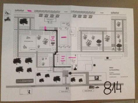 plan chambre hotel plan de l 39 hôtel et de ses chambres picture of