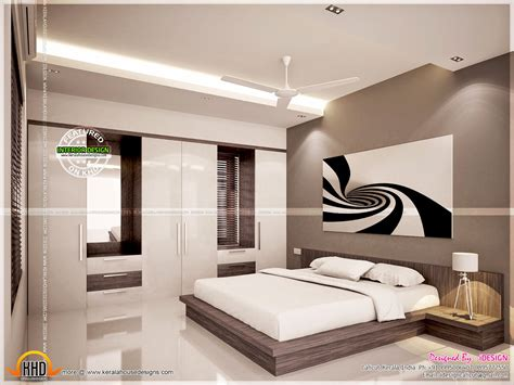 kitchen master bedroom living interiors kerala home