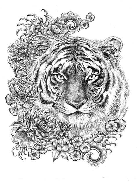adult coloring tiger 31 best adult coloring pages images on pinterest