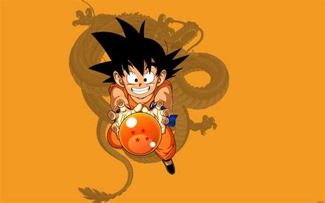 kid goku dragon ball  full hd  wallpaper