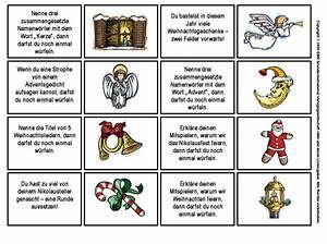 Häkelblumen Anleitung Zum Ausdrucken : advents w rfelspiel 2 spielkarten 2 medienwerkstatt ~ Lizthompson.info Haus und Dekorationen