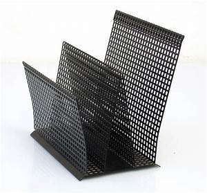 fifties metal letter and document holder With steel document holder