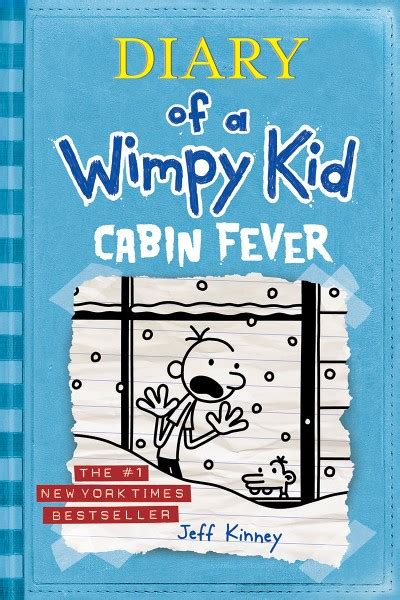 cabin fever diary wimpy kid hardcover abrams