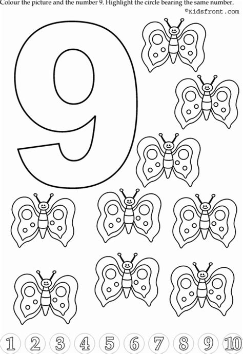 crafts actvities and worksheets for preschool toddler and 195   preschool number 9 worksheets 9