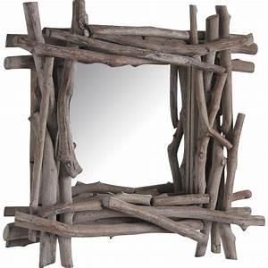 Miroir Bois Flotté : miroir en bois flott nmi1230v aubry gaspard ~ Teatrodelosmanantiales.com Idées de Décoration