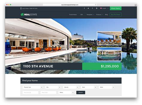 Free Real Estate Themes 33 Best Real Estate Themes For Agencies