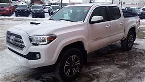 2017 Toyota Tacoma Double Cab Trd With Manual Transmission